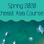 Spring 2020 Southeast Asia Course List