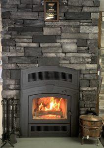 RSF Opel Keystone Wood Fireplace