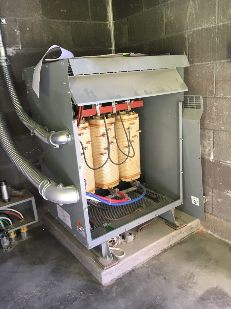 hight resolution of selecting sizing transformers in nonresidential buildings