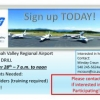 Shenandoah Valley Regional Airport Disaster Drill- PARTICIPANTS NEEDED!