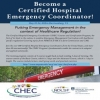 Certified Hospital Emergency Coordinator Program: May 22-24, 2019