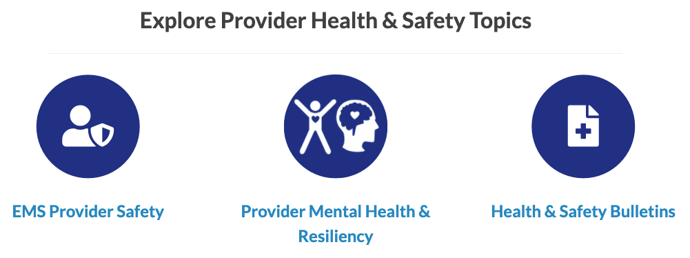 VA OEMS Introduces  Provider Health & Safety Website, Now Live!