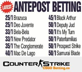 CS GO Ante Post Betting