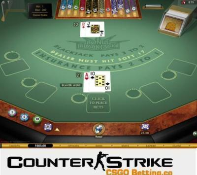CS GO Bonus Blackjack Games