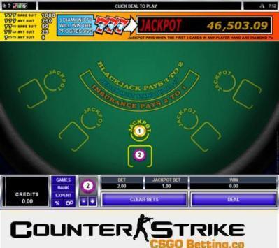 CS GO Triple 7's Blackjack Games
