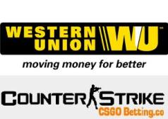 Western Union CS GO betting site deposits
