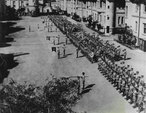 America's Fifth Infantry on parade in Tientsin - 1931