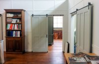 Rolling Barn Doors Make Splash on Food Network