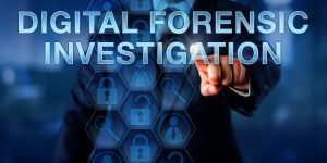 FORENSIC INVESTIGATORS RESOLVING CYBER CRIMES