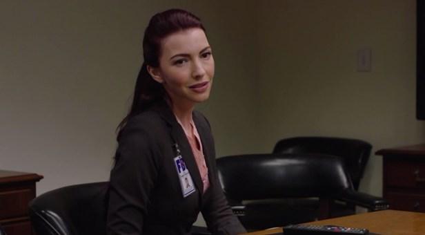 Chrysta Bell che interpreta l'agente speciale Tamara Preston in Twin Peaks