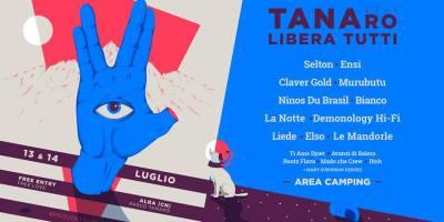 TANAro Libera Tutti 2018 Locandina