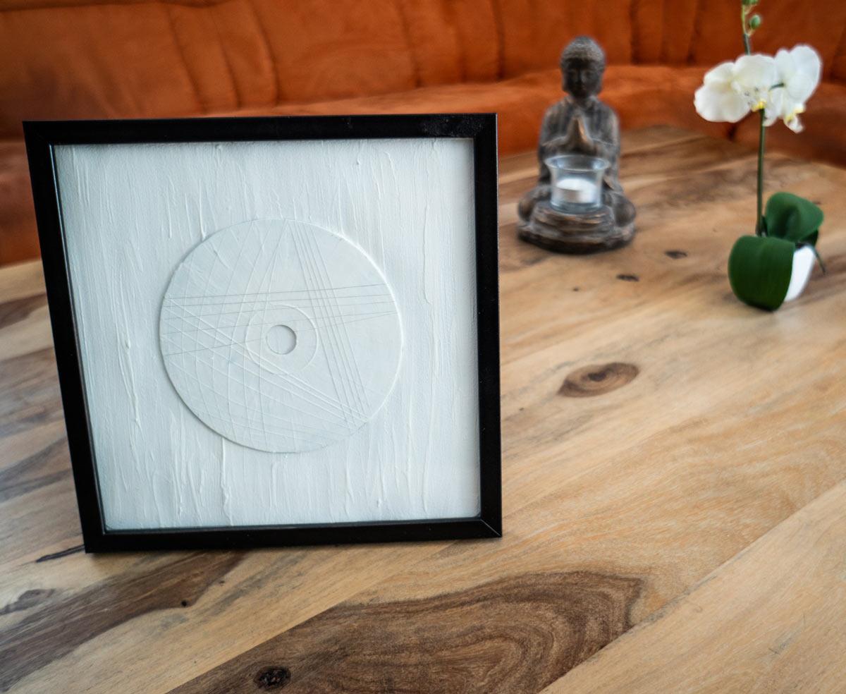 CD Kunst - mit Dekoration