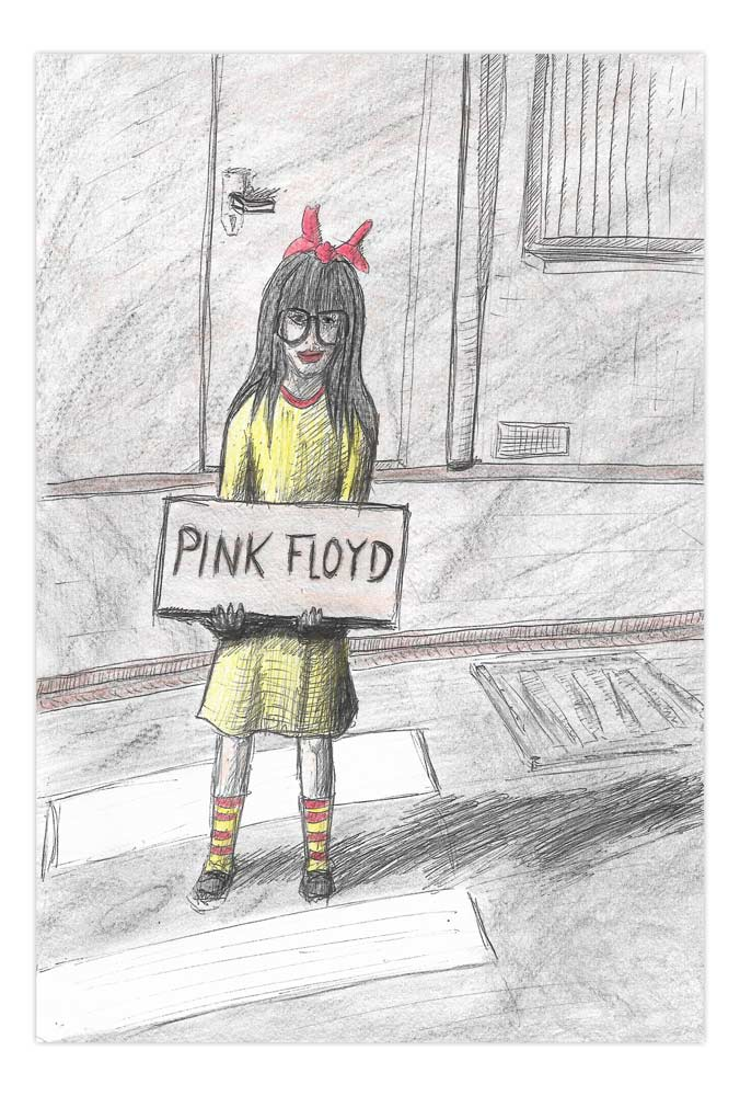 Pink Floyd Mädchen 2