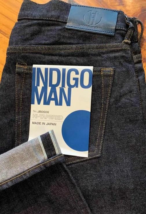 Japan Blue Jeans JB0606 Hi-tapered selvedge jeans.