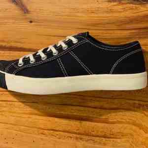 Colchester Rubber Co. National Treasure Coal Black Low Top Sneakers