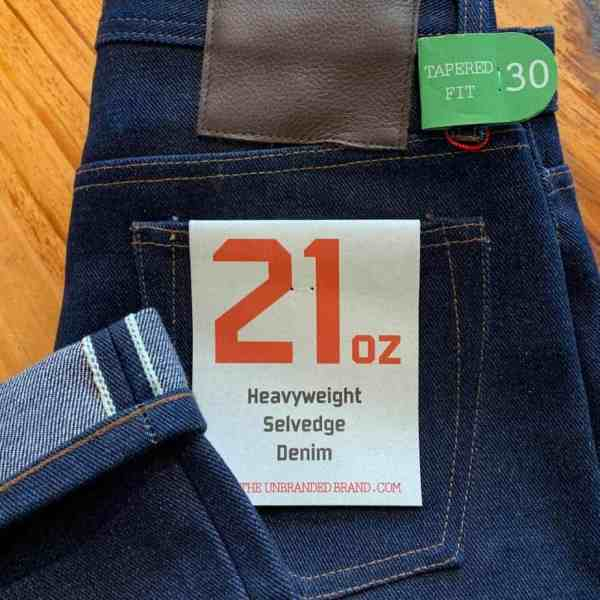 12fe1fa268dfbd Unbranded UB221 tapered 21 OZ. selvedge - Crimson Serpents Outpost