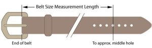 belt sizing