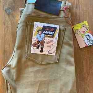 Naked and Famous Denim Weird Guy Duck Canvas Selvedge