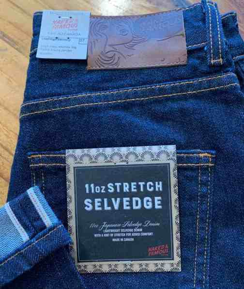 Naked and Famous Denim Women's HIgh Skinny 11 oz. Stretch Selvedge