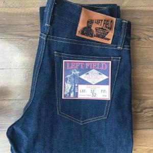 Left Field NYC Atlas 15 oz. Xinjiang Vertical Grain Selvedge Jeans