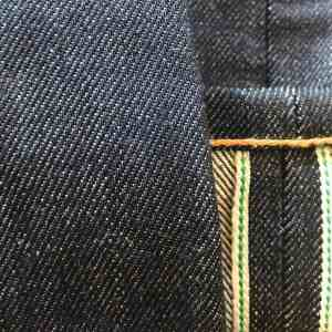 Left Field NYC Atlas 15 oz. Xinjiang Vertical Grain Selvedge Jeans