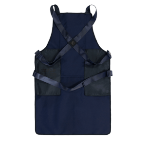 Knife and Flag Navy Non-Porous Core Apron