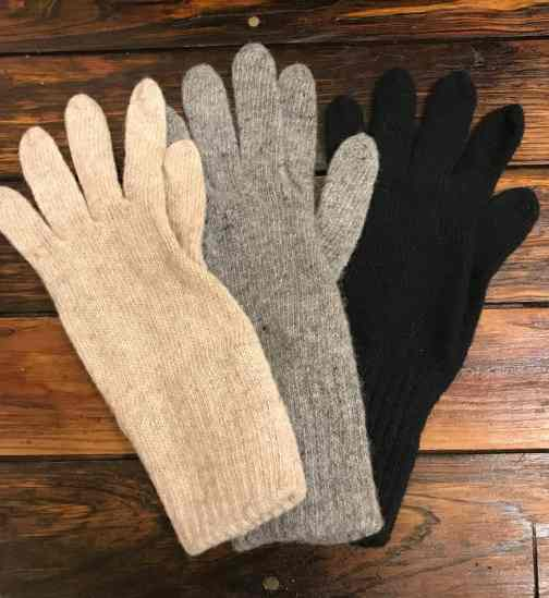 Wool gloves for Women made in the USA.
