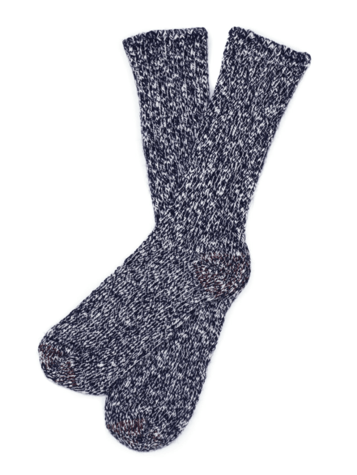 American Slub sock by American Trench in Navy.