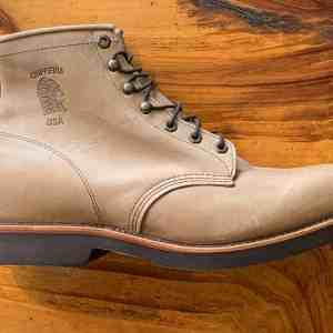 Chippewa 20067 Thompson Tan Rodeo Lace-up Boots
