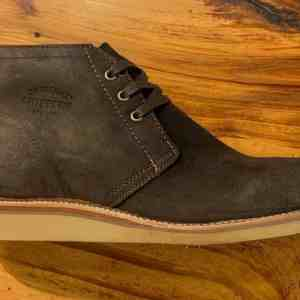 Chippewa Milford 1901G08 Chocolate Moss Suede Chukka Boots