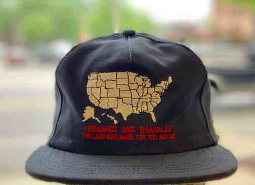 The Ampal Creative Roamed And Rambled Strapback Hat