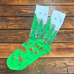 The Ampal Creative Forest Socks