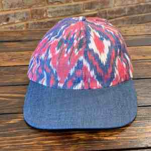 American Trench Ikat Ball Cap
