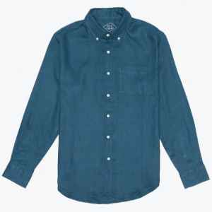 Alex Crane Playa Linen Shirt Dusk