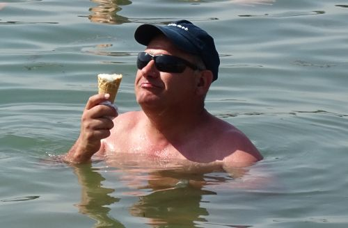 baptêmes au lac de Chour le 4 juillet 2015