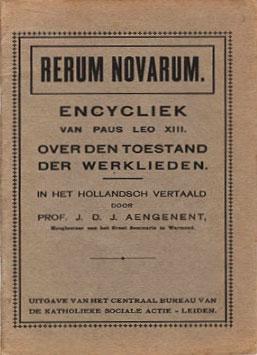 Afbeeldingsresultaat voor fotos encycliek rerum novarum