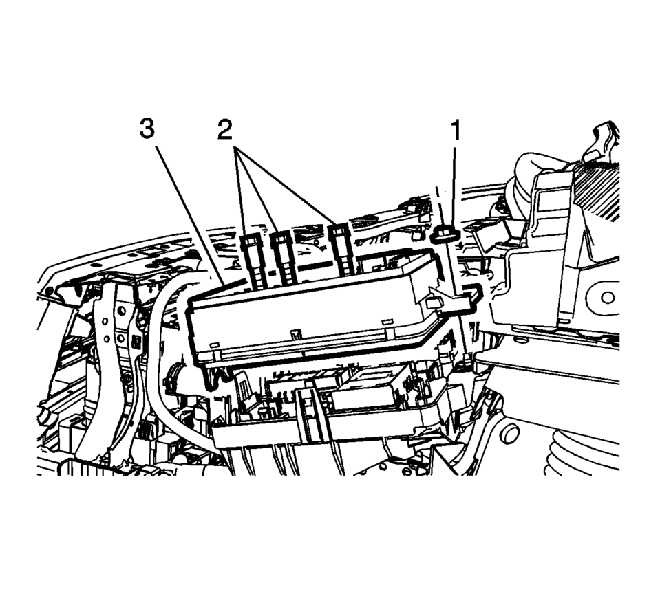 Chevrolet Sonic Repair Manual: Front Compartment Fuse