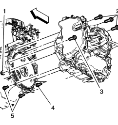remove the support fixture refer to engine support fixture install the upper transmission  [ 959 x 864 Pixel ]