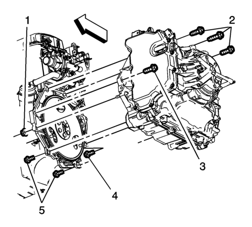 small resolution of remove the support fixture refer to engine support fixture install the upper transmission