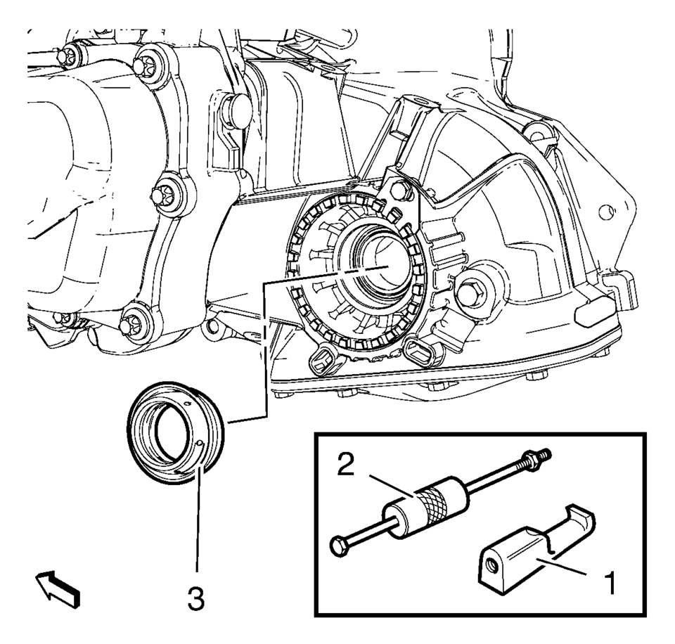 Chevrolet Sonic Repair Manual: Front Wheel Drive Shaft