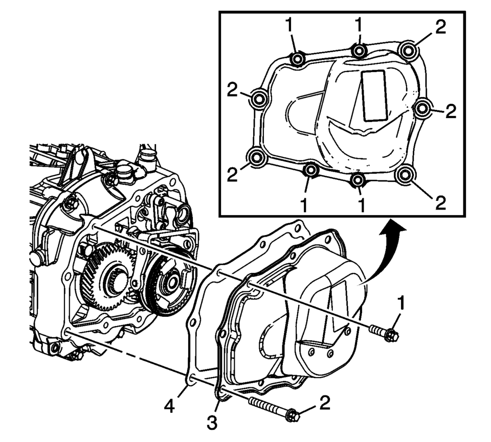 Chevrolet Sonic Repair Manual: Transmission Disassemble
