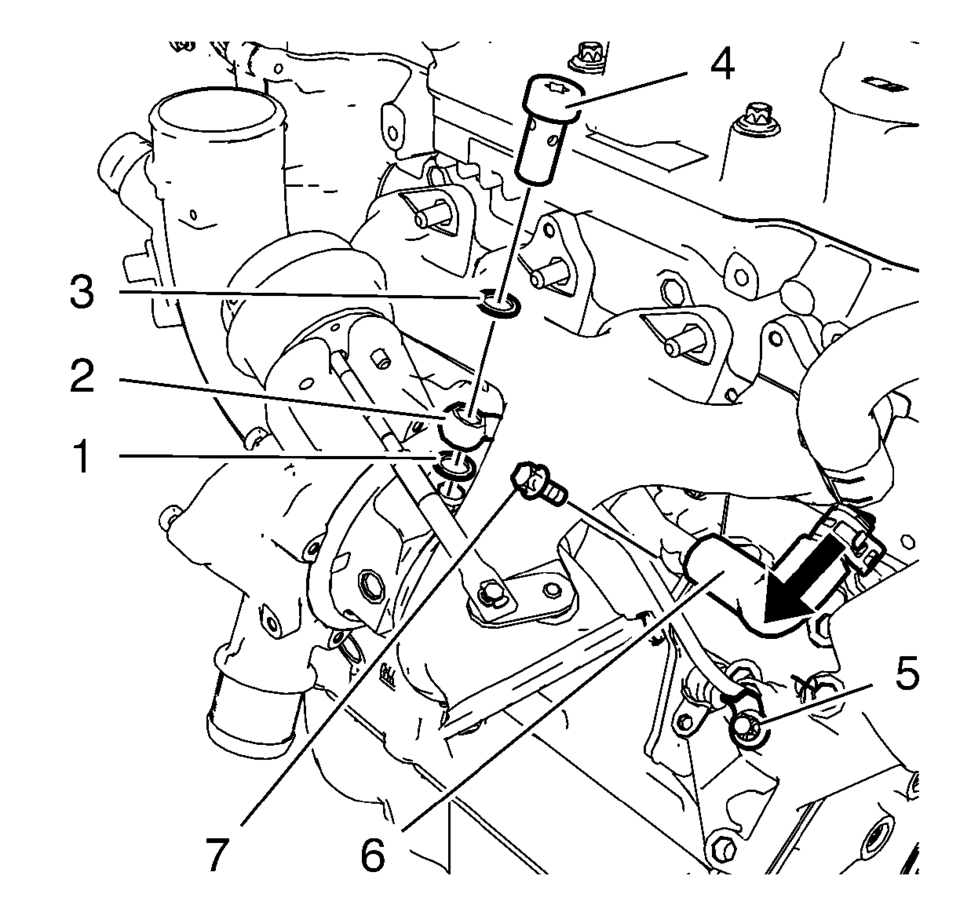 Chevrolet Sonic Repair Manual: Turbocharger Replacement