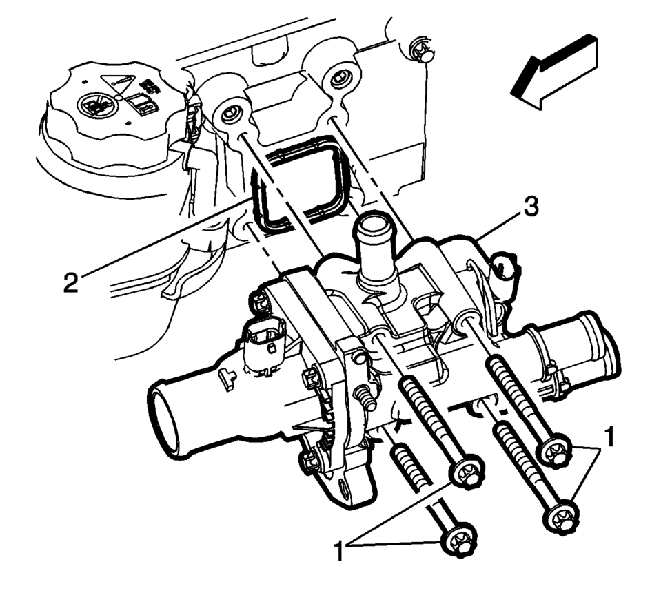 2012 Chevy Sonic Coolant Parts Diagram. Electrical. Auto