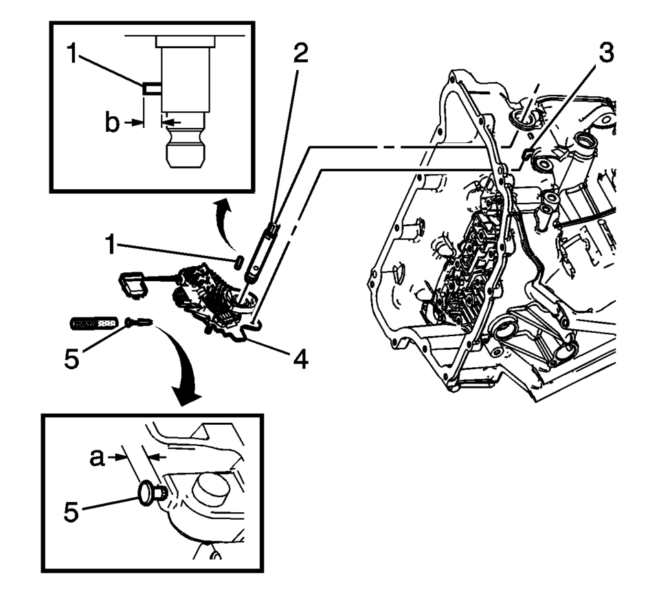 Chevrolet Sonic Repair Manual: Manual Shift Detent Lever