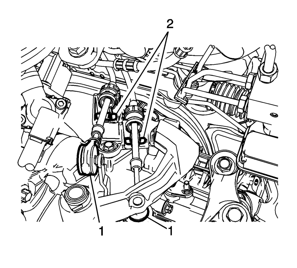 Chevrolet Sonic Repair Manual: Shift Control Housing