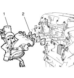 chevrolet sonic repair manual turbocharger installation [ 960 x 916 Pixel ]