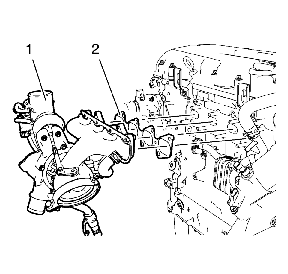 hight resolution of chevrolet sonic repair manual turbocharger installation
