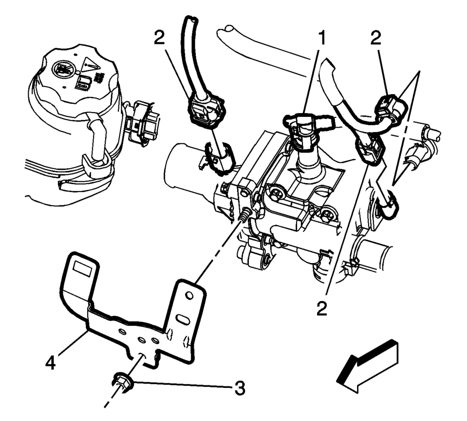 Chevrolet Sonic Repair Manual: Engine Coolant Thermostat