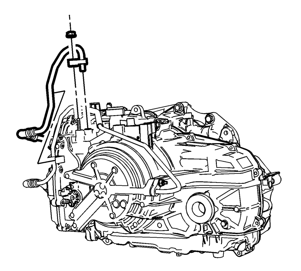 Chevrolet Sonic Repair Manual: Fluid Cooler Inlet Hose