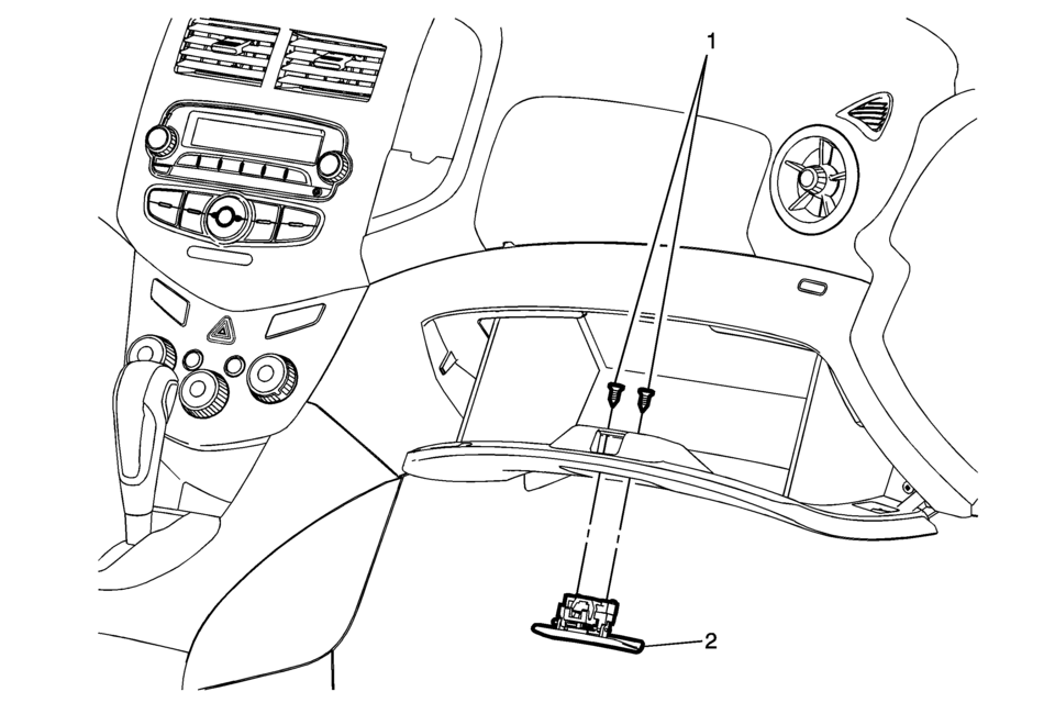 Chevrolet Sonic Repair Manual: Instrument Panel